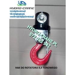 HAK DO ROTATORA 4,5 TONOWEGO Z RUCHOMYM HAKIEM