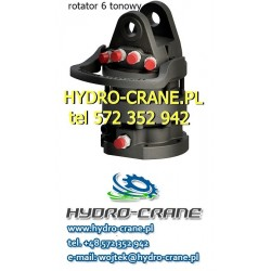 HYDRAULIC ROTATOR 6 TONS - LOGLIFT CRANE