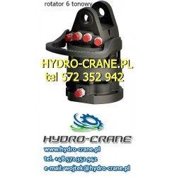 HYDRAULIC ROTATOR 6 TONS - LOGLIFT CRANE