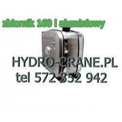 ZBIORNIK ALUMINIOWY 160L DO HDS