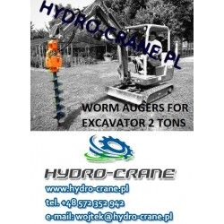 AUGERS FOR EXCAVATOR 2 TONS
