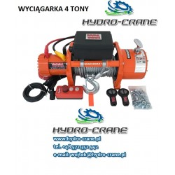 ELECTRIC RECOVERY WINCH - 12V - 4,08Tons