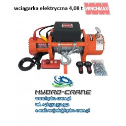 ELECTRIC WINCH - 12V - 4,08 T
