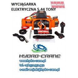 ELECTRIC RECOVERY WINCHES -12V - 5,44 TONS