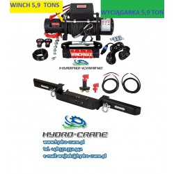 ELECTRIC RECOVERY WINCHES -12V - 5,9 TONS