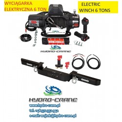 ELECTRIC REVOVERY WINCHES - 12V - 6,12 TONS